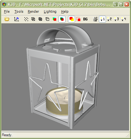 Kevs 3D - K3D Lightwave Object Viewer